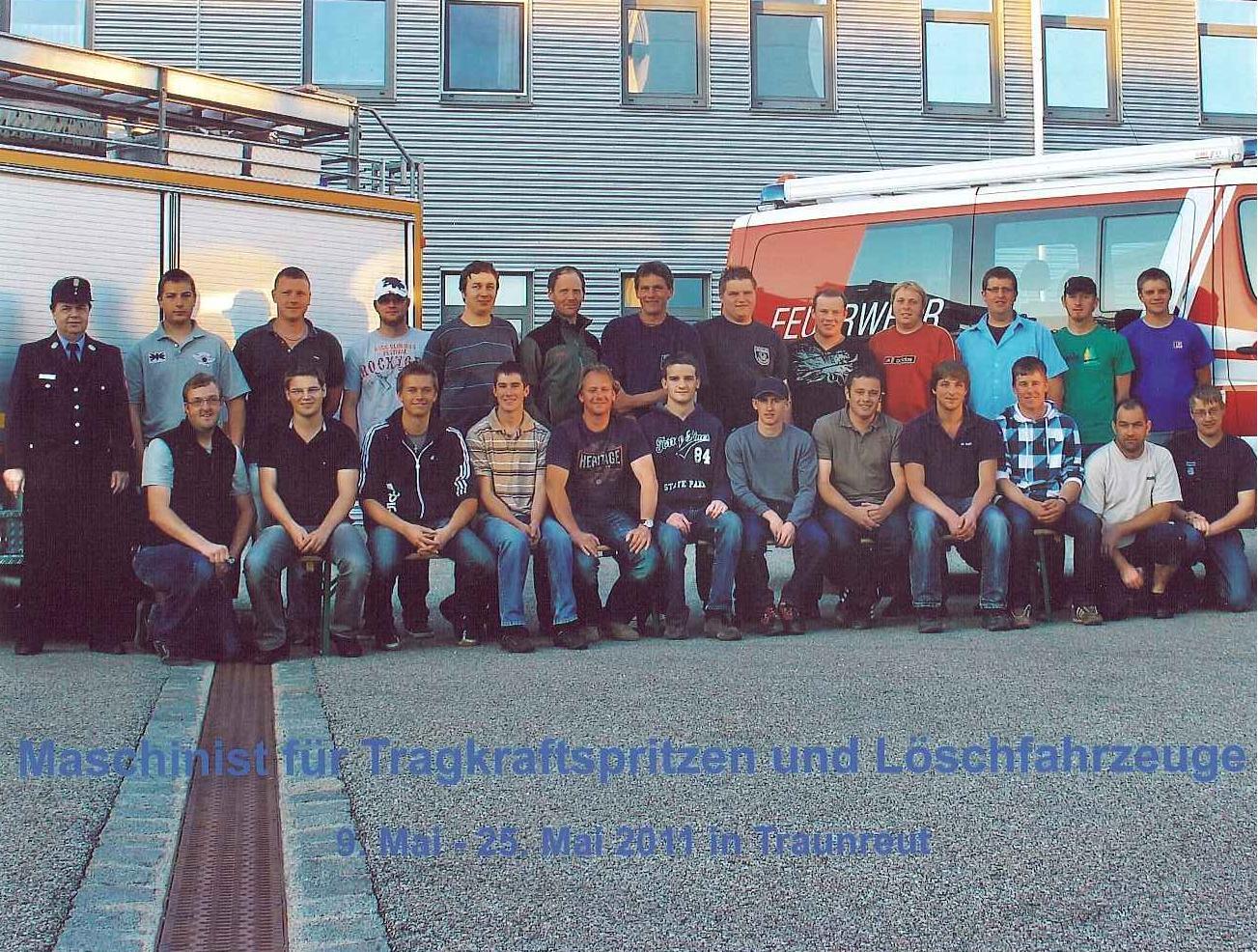 Maschinistenlehrgang Mai 2011 TS-11-MA-31